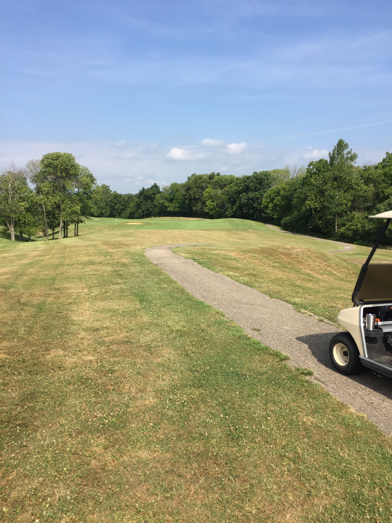 grand oak golf club west harrison in united states swing by